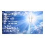Christliche Geschäfts-Karten Visitenkartenvorlage