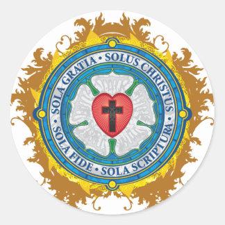 Christliche Geschenk Luther Runder Aufkleber