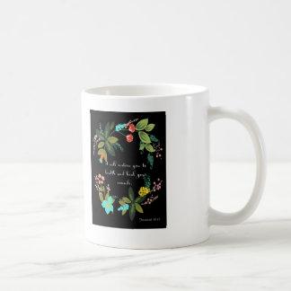 Christliche inspirational Kunst - Jeremias-30:17 Kaffeetasse