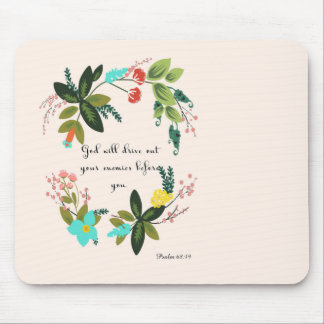 Christliche inspirational Kunst - Psalm-68:19 Mousepad