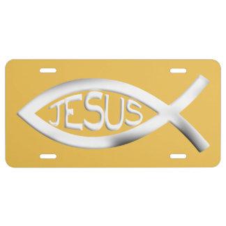 Christliche Jesus-Fische US Nummernschild