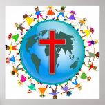 Christliche Kinder Plakate