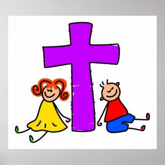 Christliche Kinder Poster