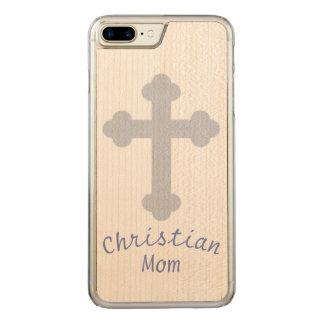 Christliche Mamma Carved iPhone 8 Plus/7 Plus Hülle