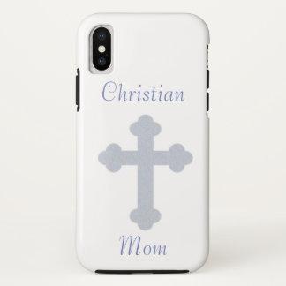 Christliche Mamma iPhone X Hülle