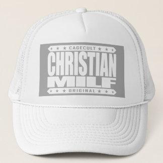 CHRISTLICHE MILF - Gewidmete Mutter, die ich zum Truckerkappe
