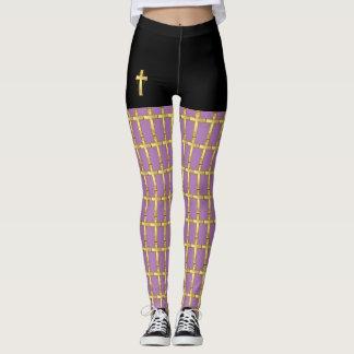 Christliche QuerPop-Mode-Gamaschen Leggings
