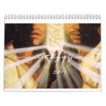 Christliche religiöse Kunst 2011 Wandkalender