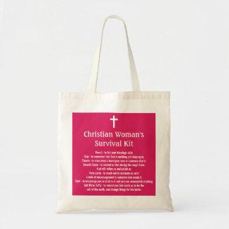 Christliche Überlebensausrüstung der Frau Taschen