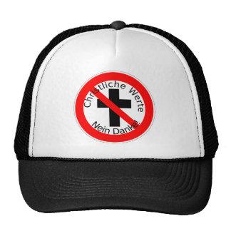 Christliche Werte - Nein Danke! Kult Cap