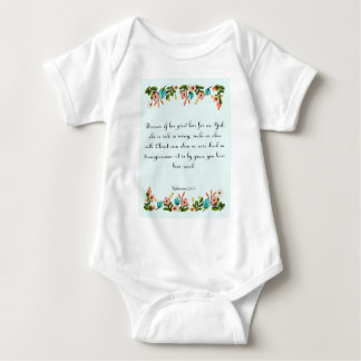 Christliche Zitat-Kunst - Ephesians 2:4 - 5 Baby Strampler