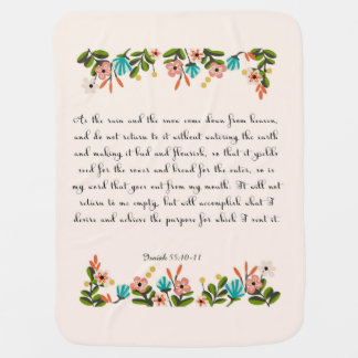 Christliche Zitat-Kunst - Jesaja-55:10 - 11 Puckdecke