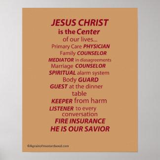 Christliche Zitate Poster
