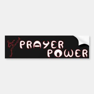 Christlicher Autoaufkleber des Gebets-Powers