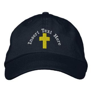 Christlicher gestickter Hut Besticktes Baseballcap