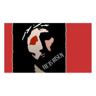 Christlicher Jesus Christus ist er gestiegenes Visitenkarten