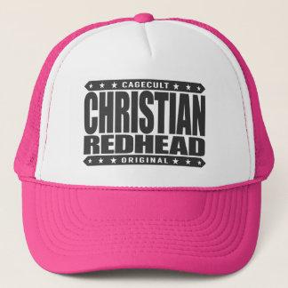 CHRISTLICHER REDHEAD - ich bin brennendes das Truckerkappe