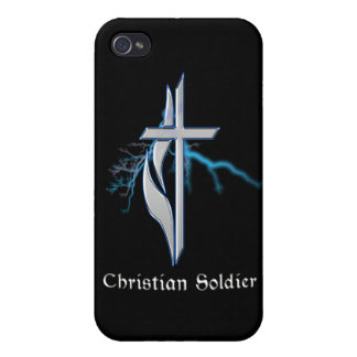 Christlicher Soldat iPhone 4 Etuis