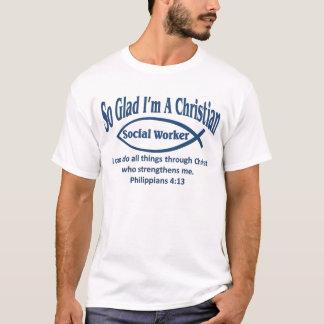 Christlicher Sozialarbeiter T-Shirt