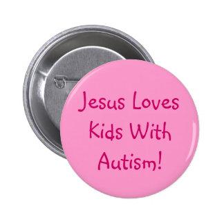 Christliches Autismus-Bewusstseins-Button Runder Button 5,1 Cm