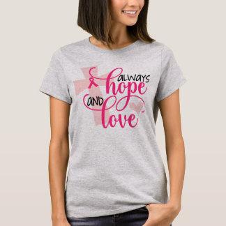 Christliches Brustkrebs-Bewusstsein mit Scripture T-Shirt