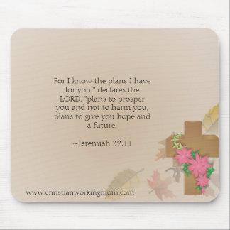 Christliches Funktions-Mamma-Jeremias-29:11 Mauspads