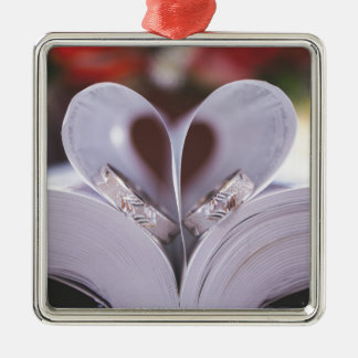 Christliches Hochzeitsbibelministerium Silbernes Ornament