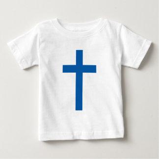 """""""CHRISTLICHES KREUZ """" BABY T-SHIRT"""
