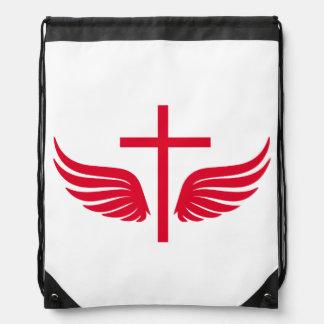 Christliches Kreuz Turnbeutel