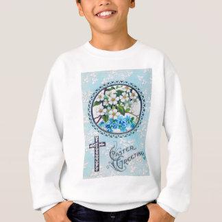 Christliches Quervergissmeinnicht-Gänseblümchen Sweatshirt