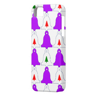 Christmas bell design,lilac iPhone 5 case