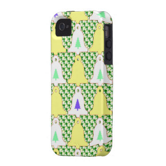 Christmas bell design vibe iPhone 4 cover