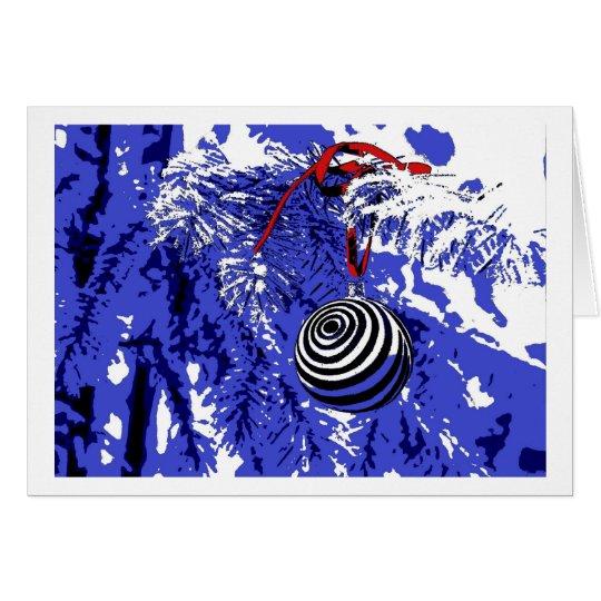 Christmas Card Pop Art Karte