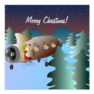 Christmas Card Spacerocket Karte