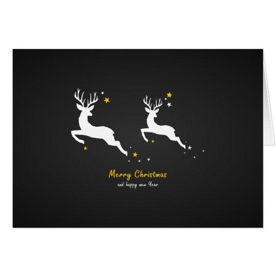 Christmas Deers Karte