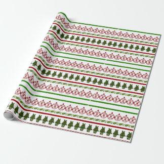 Christmas design geschenkpapierrolle