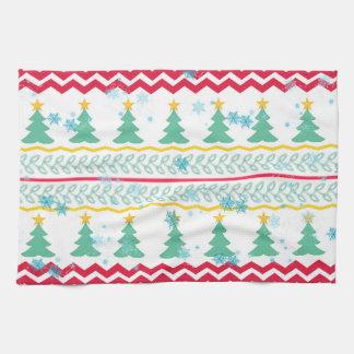 Christmas design handtücher