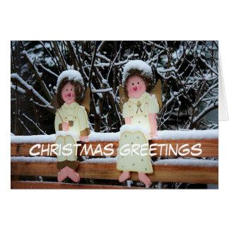 Christmas greetings grußkarte