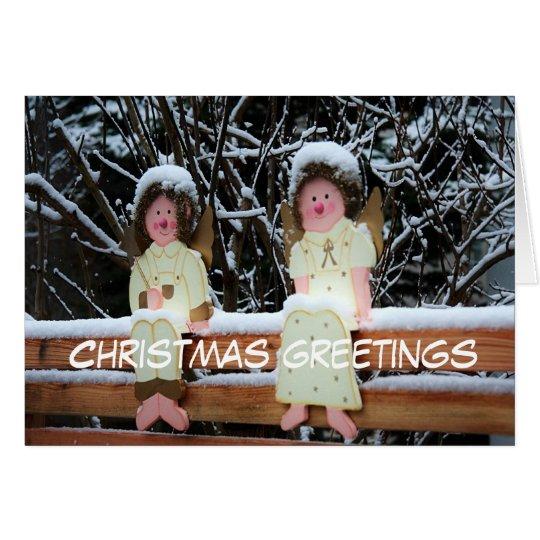 Christmas greetings karte