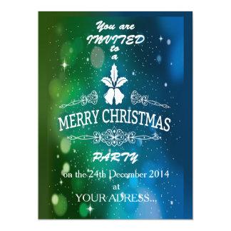 Christmas Party Invitation 16,5 X 22,2 Cm Einladungskarte