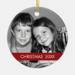 Christmas Photo Frame - Modern Christmas Ornaments