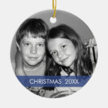 Christmas Photo Frame - Modern Christmas Tree Ornaments