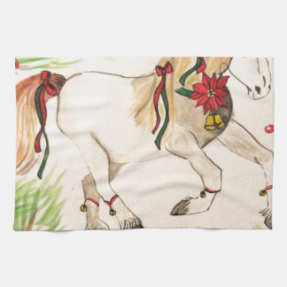 ChristmasUnicorn Handtuch