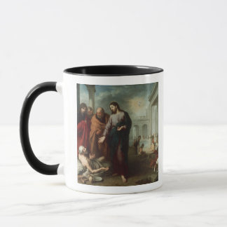 Christus am Pool von Bethesda, 1667-70 (Öl auf Ca Tasse