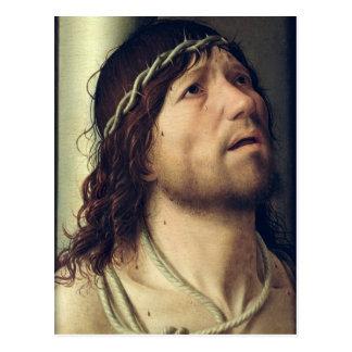 Christus an der Spalte, c.1475 Postkarte