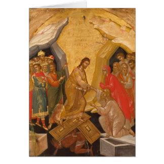 Christus annehmbar in Hades Karte