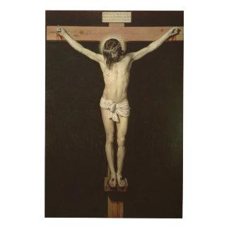 Christus auf dem Kreuz, c.1630 Holzleinwände