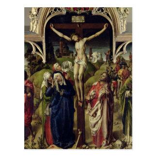 Christus auf dem Kreuz, die heiligen Frauen Postkarte