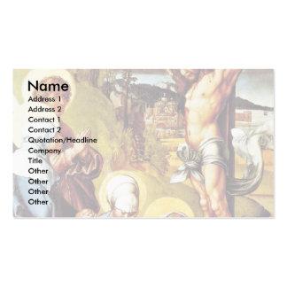 Christus auf dem Kreuz durch Albrecht Dürer Visitenkarten Vorlage