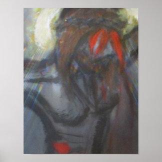 Christus auf dem Kreuz Poster